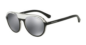 Emporio Armani EA4067 55226G GREY MIRROR BLACKTRANSPARENT/BLACK