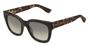 Jimmy Choo OTTI/S J3P/6P BROWN FL GOLDBRW SPTTD (BROWN FL GOLD)