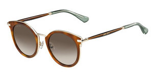 Jimmy Choo RAFFY/S QAN/J6 BROWN SFHV GLTTBW (BROWN SF)
