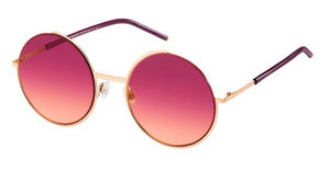 Marc Jacobs MARC 34/S TM0/V5 BURGUNDY ORANGEGOLD BURG (BURGUNDY ORANGE)