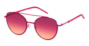 Marc Jacobs MARC 37/S FSK/V5 BURGUNDY ORANGEFUCHSIA (BURGUNDY ORANGE)