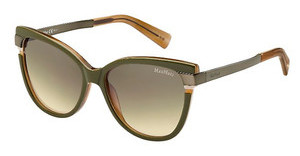 Max Mara MM LAYERS II CKN/ED BROWN DSGRNBWBKGD