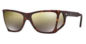 Persol PO0009 899/O3 BROWN MIRROR GOLDMATTE HAVANA