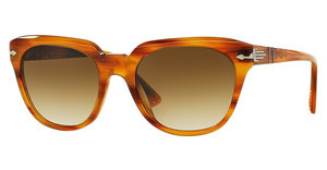 Persol PO3111S 960/51 GRADIENT BROWNSTRIPPED BROWN