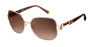 Pierre Cardin P.C. 8819/S TAV/J6 BROWN SFGLD HAVAN (BROWN SF)