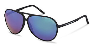 Porsche Design P8595 C green, blue mirroredblack