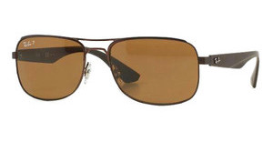 Ray-Ban RB3524 012/83 polar brownbrown