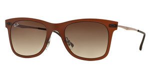 Ray-Ban RB4210 612213 GRADIENT BROWNMATTE DARK BROWN