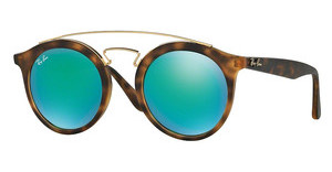Ray-Ban RB4256 60923R GREEN MIRROR GREENMATTE HAVANA