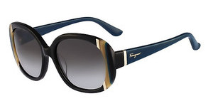 Salvatore Ferragamo SF674S 001 BLACK