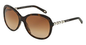 Tiffany TF4104HB 80153B BROWN GRADIENTDARK HAVANA