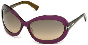 Tom Ford FT0428 81T bordeaux verlaufendviolett glanz