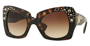 Versace VE4308B K00213 BROWN GRADIENTHAVANA GOLD EDITION