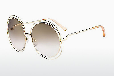 Ophthalmic Glasses Chloé CE114S 724 - Gold, Transparent, Grey, Silver