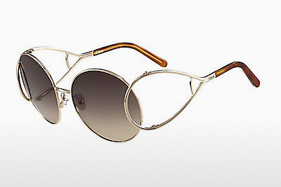 Ophthalmic Glasses Chloé CE124S 736 - Gold, Havanna
