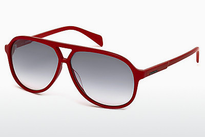 Ophthalmic Glasses Diesel DL0156 66B - Red, Shiny