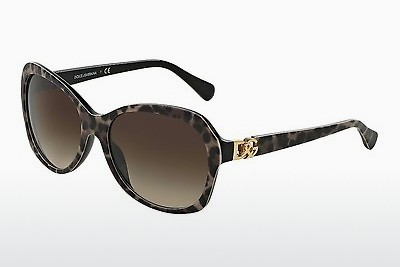 Ophthalmic Glasses Dolce & Gabbana ICONIC LOGO (DG4163P 199513) - Brown, Tortoise