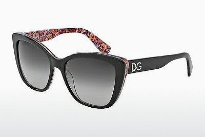 Ophthalmic Glasses Dolce & Gabbana DG4216 27898G - Black, Flowers