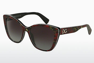 Ophthalmic Glasses Dolce & Gabbana DG4216 29388G - Flowers, Black