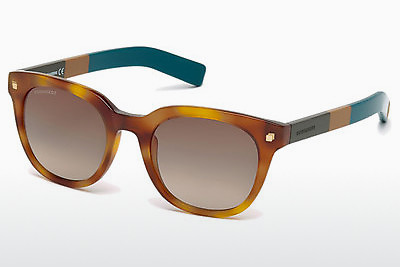 Lunettes de soleil Dsquared DQ0208 53K - Havanna, Yellow, Blond, Brown