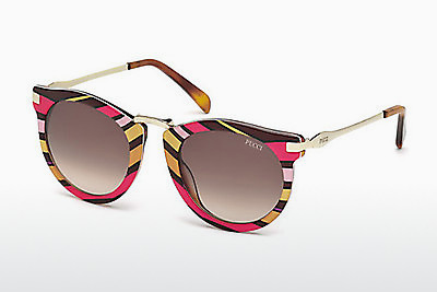 Ophthalmic Glasses Emilio Pucci EP0025 77F - Pink, Fuchsia