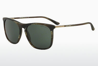 Ophthalmic Glasses Giorgio Armani AR8076 549671 - Green, Brown, Havanna