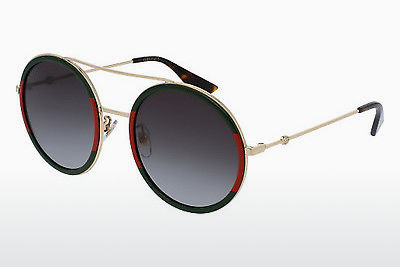 Ophthalmic Glasses Gucci GG0061S 003 - Gold