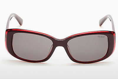 Ophthalmic Glasses Guess GU7408 69A - Burgundy, Bordeaux, Shiny