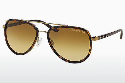 Lunettes de soleil Michael Kors PLAYA NORTE (MK5006 10342L) - Or, Brunes, Havanna