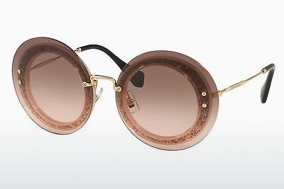 Ophthalmic Glasses Miu Miu REVEAL (MU 10RS UEU1E2) - Transparent, Pink, Silver