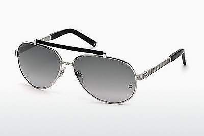Ophthalmic Glasses Mont Blanc MB454T 16B - Silver, Shiny, Grey