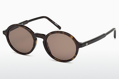Ophthalmic Glasses Mont Blanc MB601S 52J - Brown, Dark, Havana