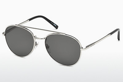 Ophthalmic Glasses Mont Blanc MB605S 16D - Silver, Shiny, Grey