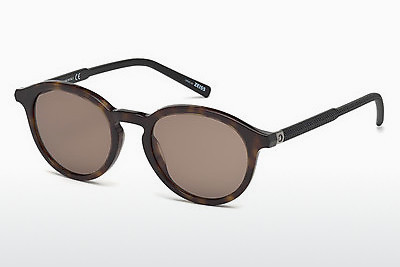 Ophthalmic Glasses Mont Blanc MB608S 52J - Brown, Dark, Havana