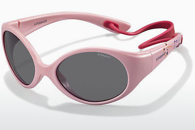 Ophthalmic Glasses Polaroid Kids PLD 8010/S NM9/Y2 - White, Pink
