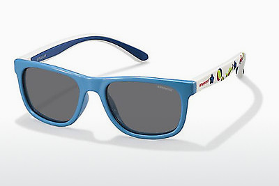 Ophthalmic Glasses Polaroid Kids PLD 8012/S OFJ/Y2 - Blue, Azure