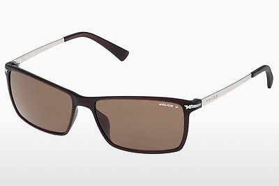 Ophthalmic Glasses Police LOOK BLACK 3 (S1957 Z55P) - Brown