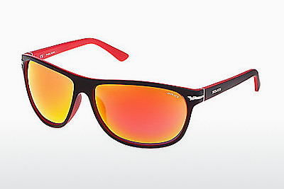 Ophthalmic Glasses Police MOXIE 1 (S1958 NVBR) - Red