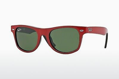 Ophthalmic Glasses Ray-Ban Junior JUNIOR WAYFARER (RJ9035S 162/71) - Red, Black