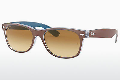 Ophthalmic Glasses Ray-Ban NEW WAYFARER (RB2132 618985) - Brown, Chocolate