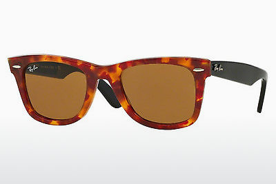 Ophthalmic Glasses Ray-Ban WAYFARER (RB2140 1161) - Brown, Havanna
