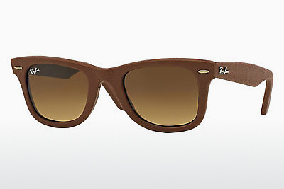 Ophthalmic Glasses Ray-Ban WAYFARER LEATHER (RB2140QM 116985) - Brown