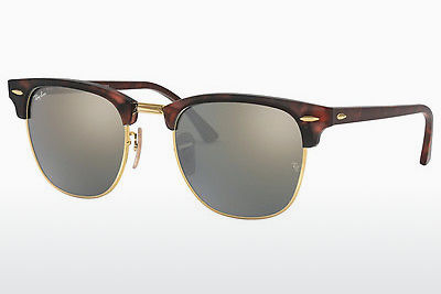 Ophthalmic Glasses Ray-Ban CLUBMASTER (RB3016 114530) - Brown, Havanna, Black, Sand