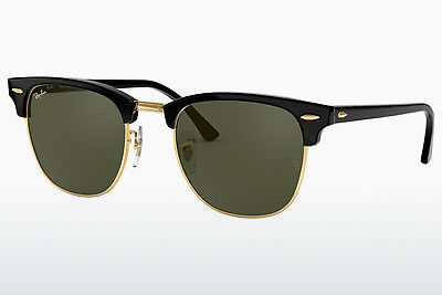 Ophthalmic Glasses Ray-Ban CLUBMASTER (RB3016 W0365) - Black, Gold