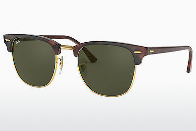 Ophthalmic Glasses Ray-Ban CLUBMASTER (RB3016 W0366) - Black, Brown, Havanna