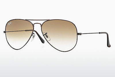 Ophthalmic Glasses Ray-Ban AVIATOR LARGE METAL (RB3025 014/51) - Brown