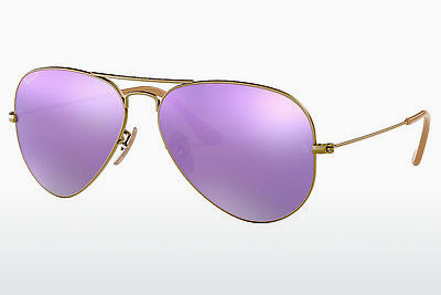 Lunettes de soleil Ray-Ban AVIATOR LARGE METAL (RB3025 167/1R) - Brunes, Bronze