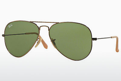 Lunettes de soleil Ray-Ban AVIATOR LARGE METAL (RB3025 177/4E) - Or