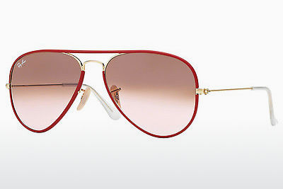 Lunettes de soleil Ray-Ban AVIATOR FULL COLOR (RB3025JM 001/X3) - Rouges