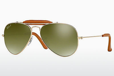 Ophthalmic Glasses Ray-Ban AVIATOR CRAFT (RB3422Q 001/M9) - Gold, Brown